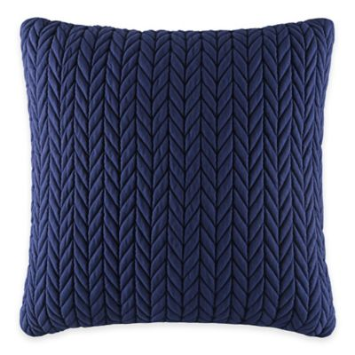 J by J. Queen New York Camden Square Throw Pillow in Indigo