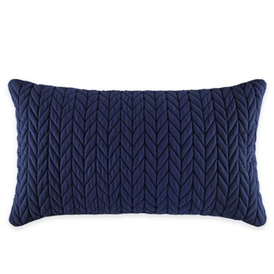 J by J. Queen New York Camden Boudoir Throw Pillow in Indigo