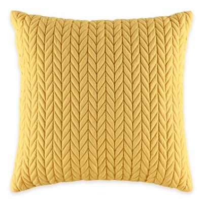J by J. Queen New York Camden Square Throw Pillow in Banana