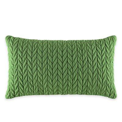 J by J. Queen New York Camden Boudoir Throw Pillow in Kiwi