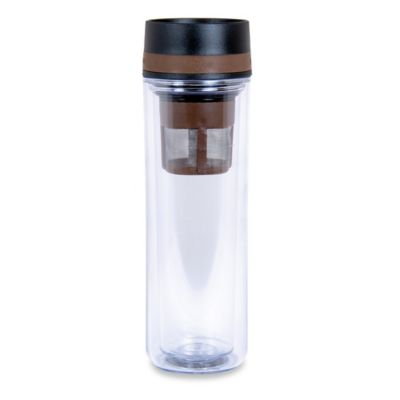 Double Insulated Infuser 12 oz. Travel Tumbler