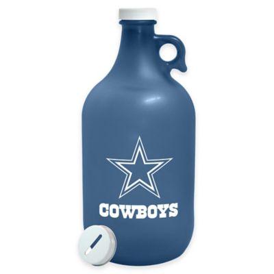 NFL Dallas Cowboys Growler with Bank Cap