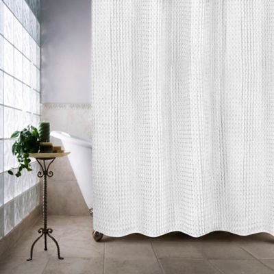 Escondido 72-Inch x 72-Inch Shower Curtain in White