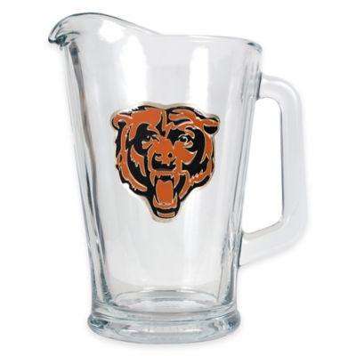 NFL Chicago Bears 1/2 Gallon Glass Pitcher