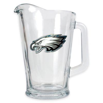 NFL Philadelphia Eagles 1/2 Gallon Glass Pitcher