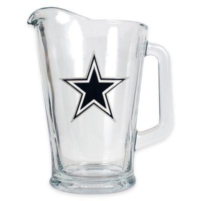NFL Dallas Cowboys 1/2 Gallon Glass Pitcher