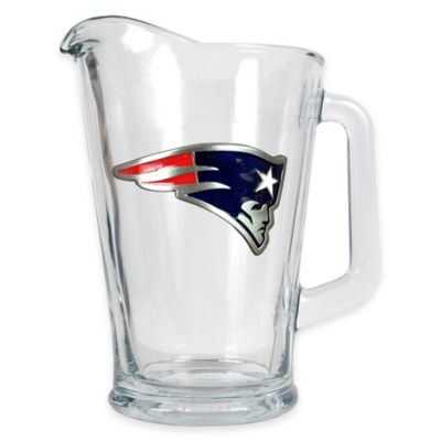 Team Color Glass Pitcher