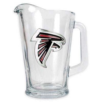 NFL Atlanta Falcons 1/2 Gallon Glass Pitcher