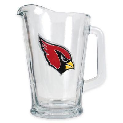 NFL Arizona Cardinals 1/2 Gallon Glass Pitcher