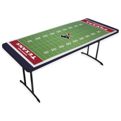 Houston Texans TableTopit™ Football Field Table Cover