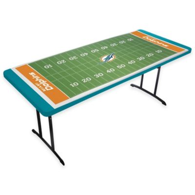 Miami Dolphins TableTopit™ Football Field Table Cover