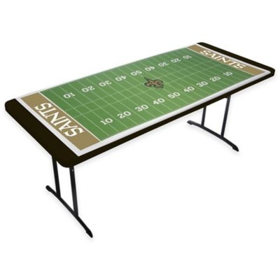 New Orleans Saints TableTopit™ Football Field Table Cover