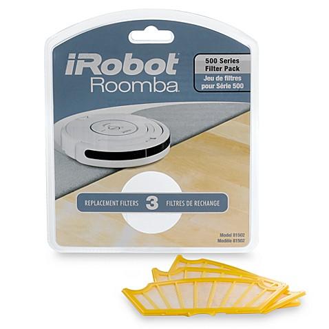 Buy Irobot 174 Hepa Filters For Roomba 500 174 Series Set Of 3