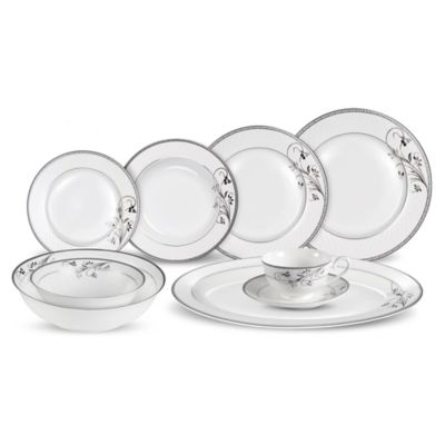 Lorren Home Trends Viola 30-Piece Dinnerware Set