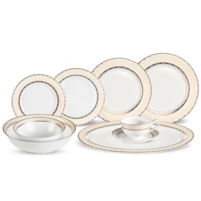 Lorren Home Trends Margaret 30-Piece Dinnerware Set
