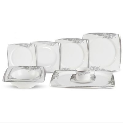 Lorren Home Trend Belle 30-Piece Dinnerware Set