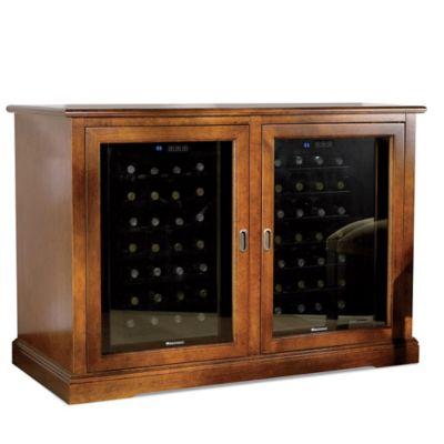 Wine Enthusiast® Siena Mezzo 56-Bottle Wine Credenza in Walnut