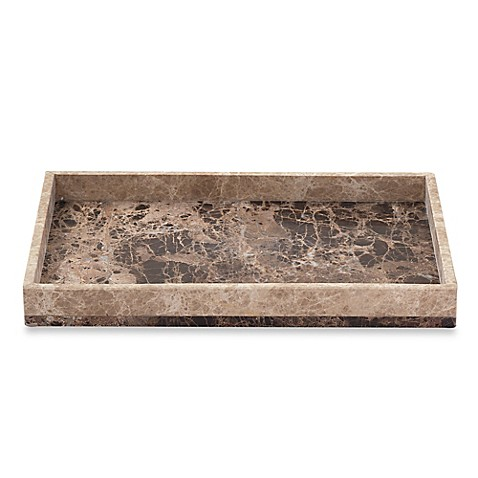 Buy Montecito Marble Vanity Tray From Bed Bath Amp Beyond
