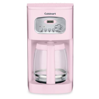 Cuisinart 12-Cup Programmable Coffee Maker in Pink - Bed Bath & Beyond