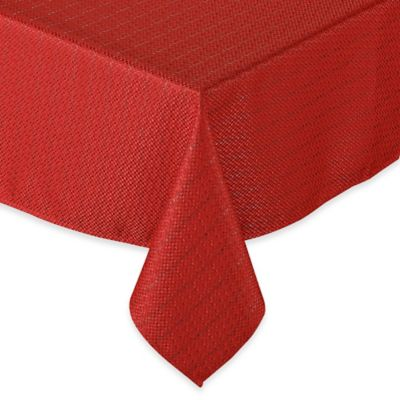 Sam Hedaya Celebration Stripe 52-Inch Square Tablecloth