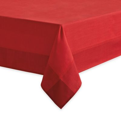 Dylan 52-Inch Round Tablecloth in Red