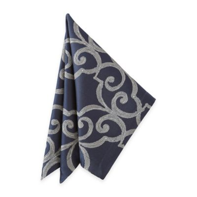 Waterford® Linens Sorelle Napkin in Blue