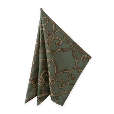 Waterford® Linens Sorelle Napkins in Green (Set of 2)