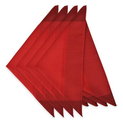 Dylan Napkins in Red (Set of 4)