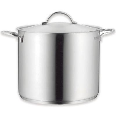 WMF 14.75 qt. Covered Stock Pot