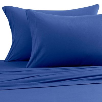 Pure Beech® Jersey Knit Modal Full Sheet Set in Navy