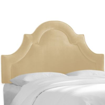 Skyline Furniture Hamilton Twin Headboard in Velvet Pearl