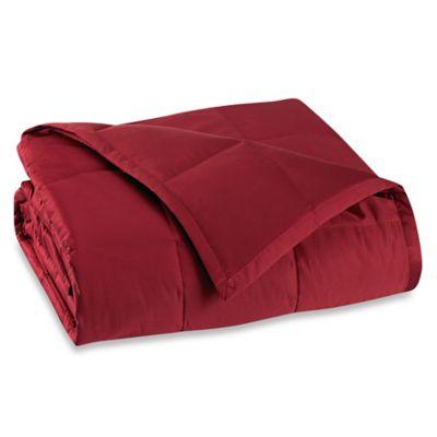 Wamsutta® DreamZone King Lightweight Down Alternative Blanket in Red