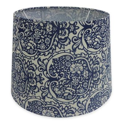 Light Blue Lamp Shade