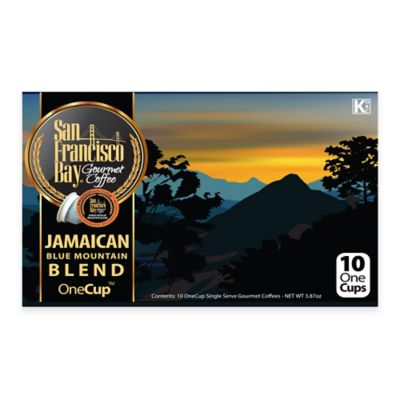 10-Count OneCup San Francisco Bay Jamaican Blue Mountain Blend Coffee for Single Serve Coffee Makers