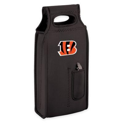 NFL Cincinnati Bengals Wine Tote in Black