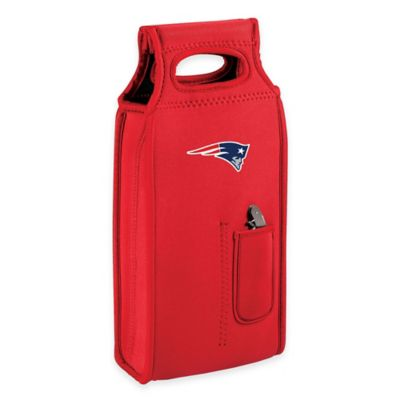 NFL New England Patriots Wine Tote in Red