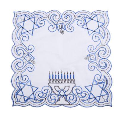 Sam Hedaya Hanukkah Sparkle Square Placemat