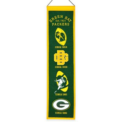NFL Green Bay Packers Heritage Banner