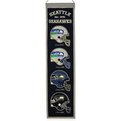 NFL Seattle Seahawks Heritage Banner