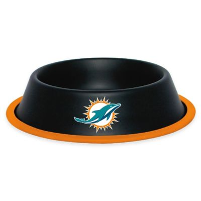 NFL Miami Dolphins Pet Food Bowl
