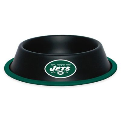 NFL New York Jets Pet Food Bowl
