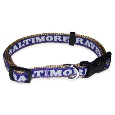 Baltimore Ravens Medium Pet Collar