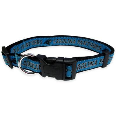 Carolina Panthers medium Pet Collar