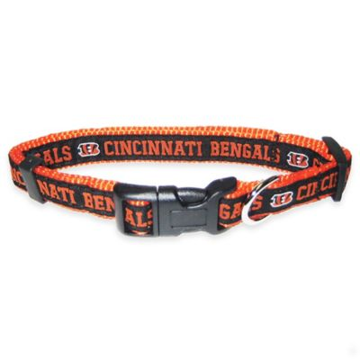 Cincinnati Bengals Medium Pet Collar