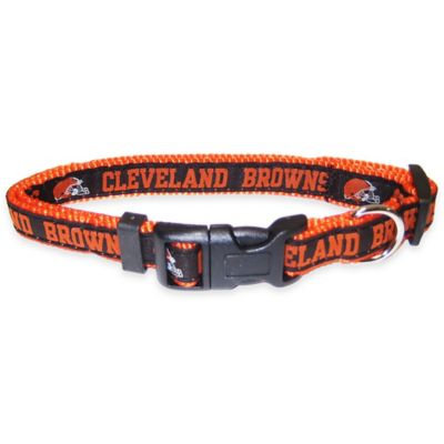 Cleveland Browns Large Pet Collar