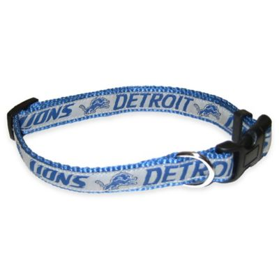Detroit Lions Small Pet Collar