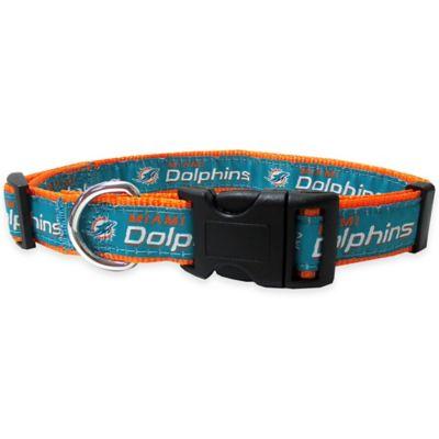 Miami Dolphins Medium Pet Collar