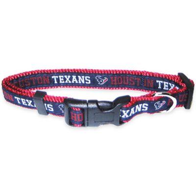 Houston Texans Large Pet Collar