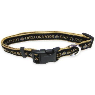 New Orleans Saints Large Pet Collar