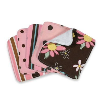 Trend Lab® Washcloths (5-Pack) - Maya Dot